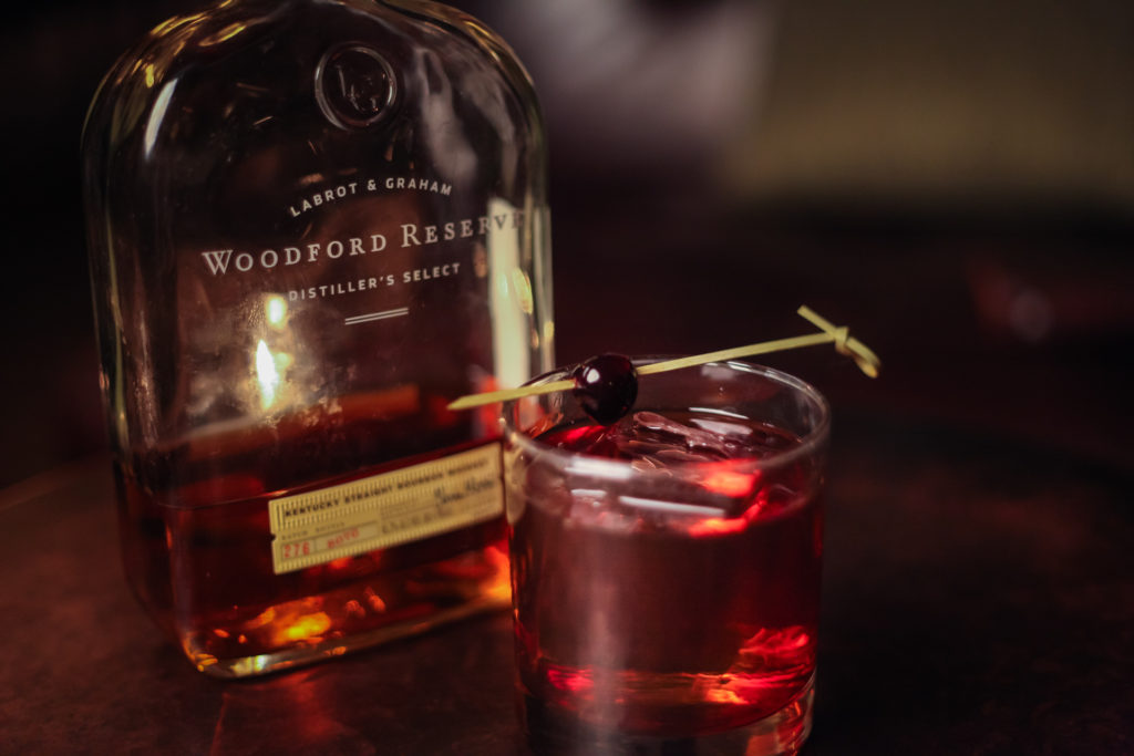 Woodford Reserve cocktail photography