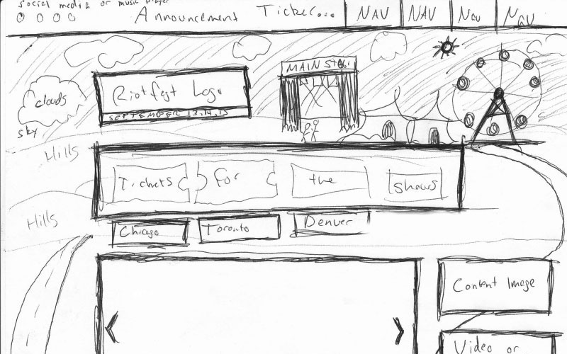 riot-fest-sketch-web-design