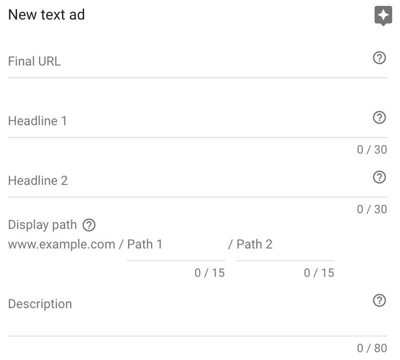 google adwords search new ad