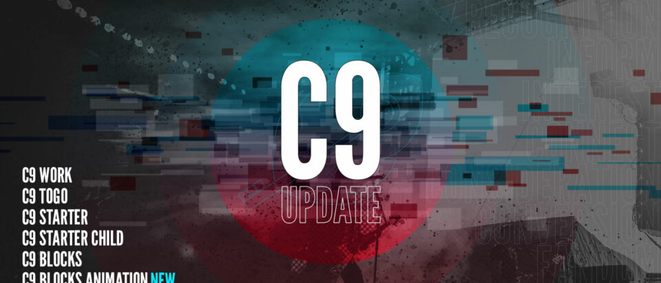 C9 Blocks 1.2 – New templates, previews, and C9 Blocks Animation for those of you on our early access list